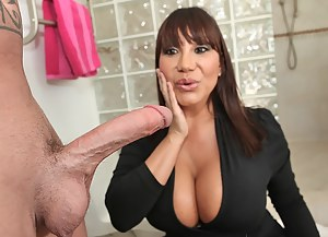 Big Cock and Tits Porn Pictures