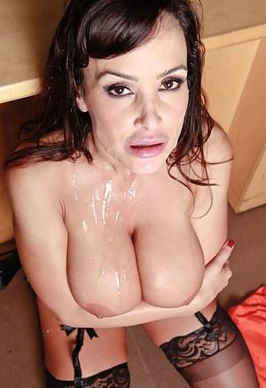 Big Tits Bukkake Porn Pictures